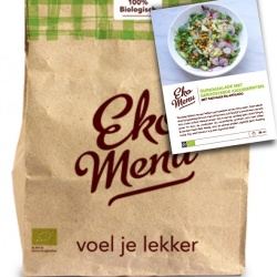 Uitgeteste foodbox Maaltijdbox Vegan menu