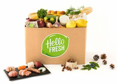 Gourmetbox HelloFresh