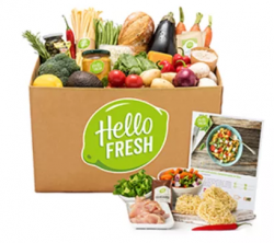 De Quick en Easy Hellofresh box