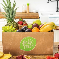 Extra vitaminen met een fruitbox